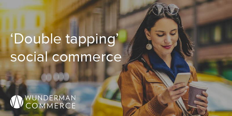 Double tapping social commerce 800x400